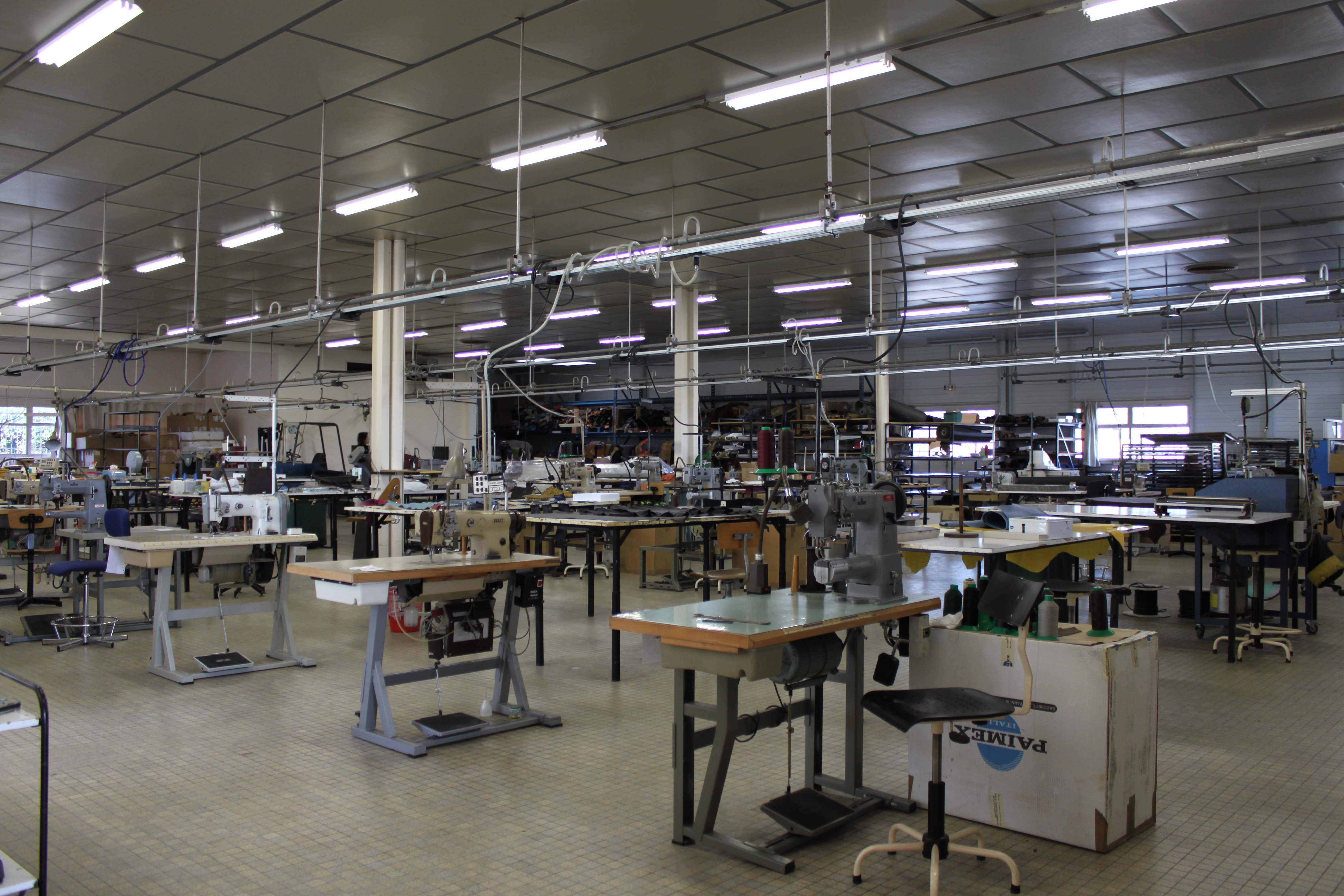 la manuf - La Manufacture du Cuir - Saint-Aubin le Cloud - atelier