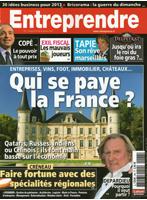 Cover - Entreprendre - Janvier 2013