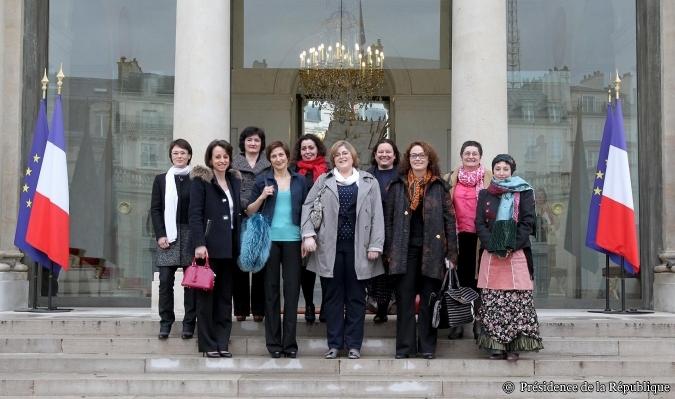 KORYOM à l'Elysée pour la Journée de la Femme - 8 mars 2013